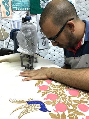 artisan brodeur maroc